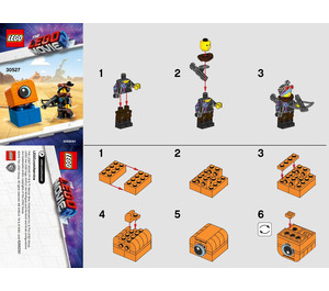 LEGO Lucy vs. Alien Invader Set 30527 Instructions