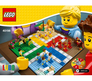 LEGO Ludo Game Set 40198 Instructions