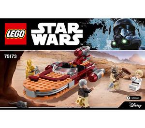 LEGO Luke's Landspeeder Set 75173 Instructions