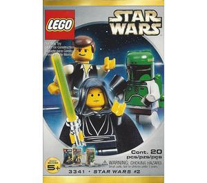 LEGO Luke Skywalker, Han Solo and Boba Fett Minifig Pack - Star Wars #2 Set 3341