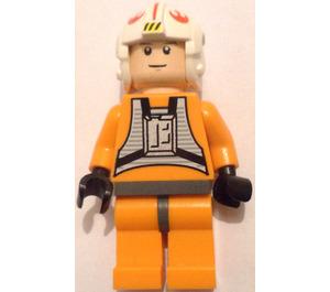 LEGO Luke Skywalker with Pilot Outfit Minifigure (Light Flesh Head)