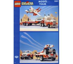 LEGO Mach II Red Bird Rig Set 5591