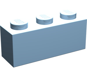 LEGO Maersk Blue Brick 1 x 3 (3622)