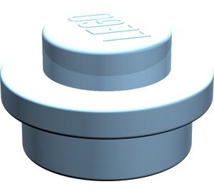 LEGO Maersk Blue Plate 1 x 1 Round (6141)