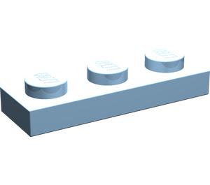 LEGO Maersk Blue Plate 1 x 3 (3623)