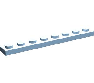 LEGO Maersk Blue Plate 1 x 8 (3460)