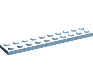 LEGO Maersk Blue Plate 2 x 10 (3832)