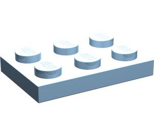 LEGO Maersk Blue Plate 2 x 3 (3021)