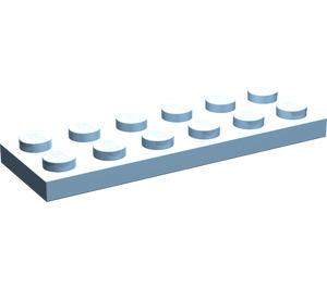 LEGO Maersk Blue Plate 2 x 6 (3795)
