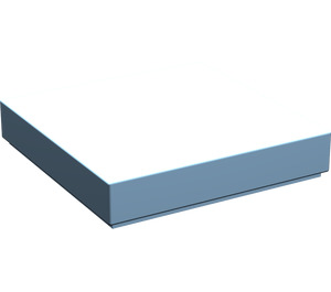 LEGO Maersk Blue Tile 2 x 2 with Groove (3068)