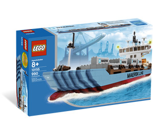 LEGO Maersk Line Container Ship Set 10155 Packaging