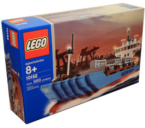 LEGO Maersk Sealand Container Ship Set (2004 Version) 10152-1 Packaging
