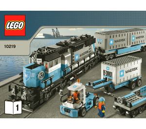 LEGO Maersk Train Set 10219 Instructions