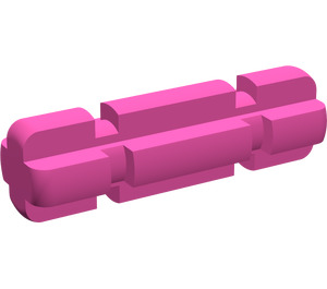 LEGO Magenta Axle 2 with Grooves