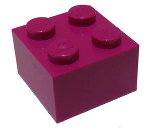 LEGO Magenta Brick 2 x 2 (3003)