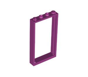 LEGO Magenta Door Frame 1 x 4 x 6 Single Sided (40289)