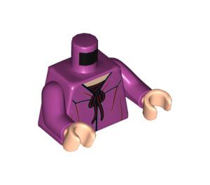 LEGO Magenta Ginny Weasley Minifig Torso (76382)