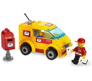 LEGO Mail Van Set 7731