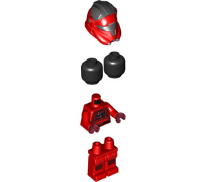 LEGO Major Vonreg Minifigure