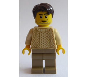 LEGO Man in Knit Sweater Minifigure