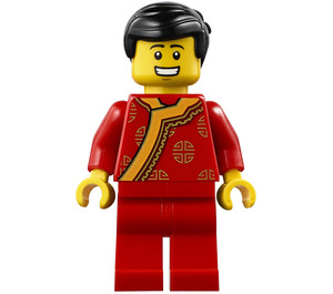LEGO Man in Traditional Chinese Outfit Minifigure