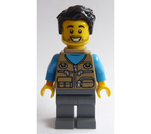 LEGO Man with Baby Carrier Minifigure