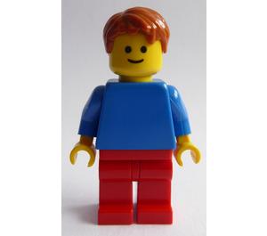 LEGO Man with Blue Shirt Minifigure