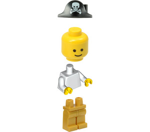 LEGO Man with Pirate Hat Minifigure