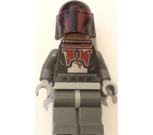 LEGO Mandalorian Super Commando with Pre Vizsla Head and Rocket Pack Minifigure