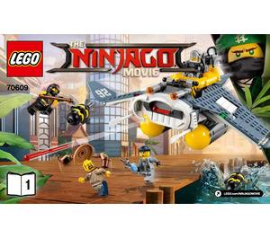 LEGO Manta Ray Bomber Set 70609 Instructions