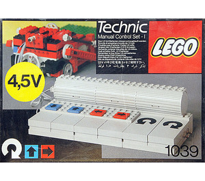 LEGO Manual Control Set 1 1039