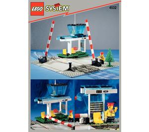 LEGO Manual Level Crossing Set 4532 Instructions