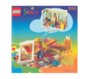 LEGO Marie's Room Set 3142 Instructions
