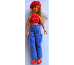 LEGO Marie Scala Doll with Clothes from Set 3142