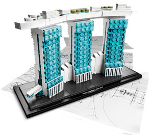 LEGO Marina Bay Sands Set 21021