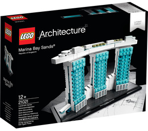 LEGO Marina Bay Sands Set 21021 Packaging