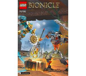 LEGO Mask Maker vs. Skull Grinder Set 70795 Instructions