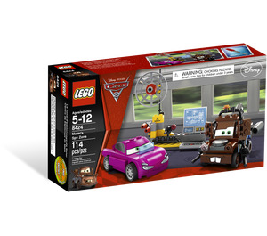 LEGO Mater's Spy Zone Set 8424 Packaging