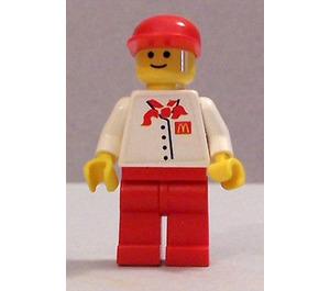 LEGO McDonalds employee Minifigure