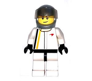 LEGO Mclaren driver Minifigure