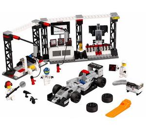 LEGO McLaren Mercedes Pit Stop Set 75911