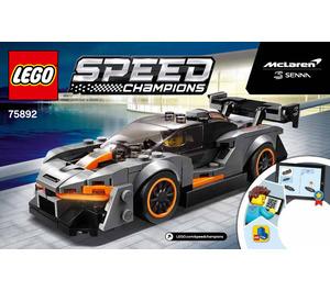 LEGO McLaren Senna Set 75892 Instructions