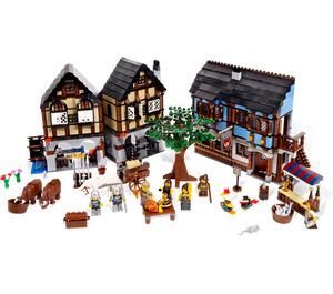 LEGO Medieval Market Village Set 10193