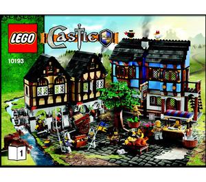 LEGO Medieval Market Village Set 10193 Instructions