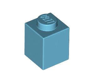 LEGO Medium Azure Brick 1 x 1 (3005)