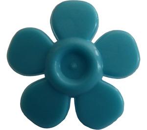 LEGO Medium Azure Flower with Smooth Petals (93080)