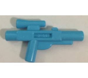 LEGO Medium Azure Minifig Gun Short Blaster
