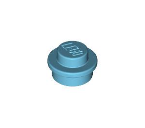 LEGO Medium Azure Plate 1 x 1 Round (6141)