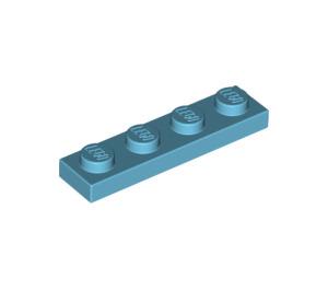 LEGO Medium Azure Plate 1 x 4 (3710)
