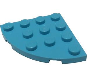 LEGO Azur moyen assiette 4 x 4 Rond Coin (30565)